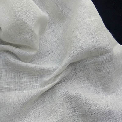 Flax linen cotton fabric