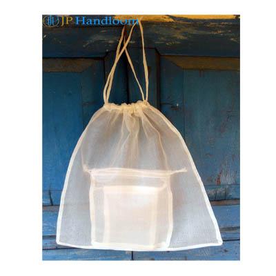 Organza Silk Draw String Bag