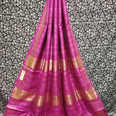 Handloom Saree (Pink)