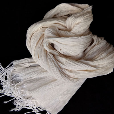 Bamboo Cotton Crinkle Scarf- (5)