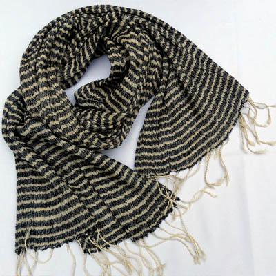 Tussar Silk Scarf 2
