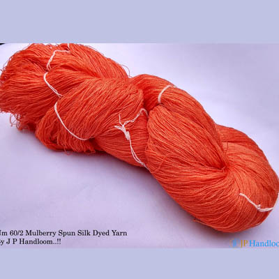 Mulberry Silk Yarn (Orange)