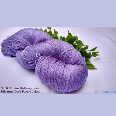 Mulberry Silk Yarn (Purple)
