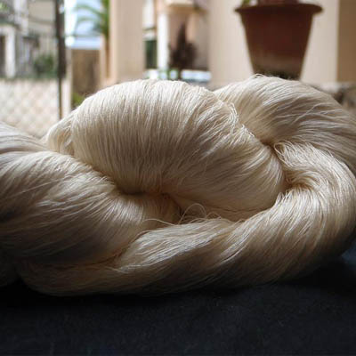 Mulberry Silk Yarn (Spun Silk)