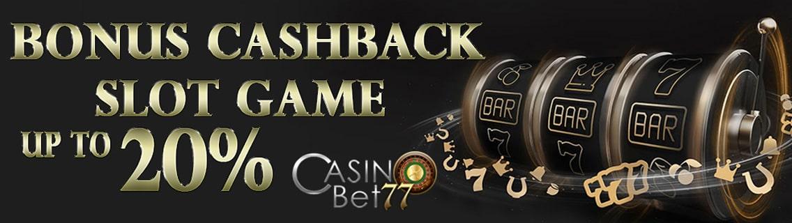 bonus cashback slot game
