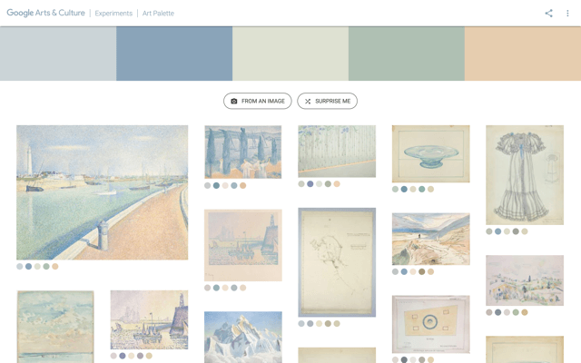 Art Palette by Google