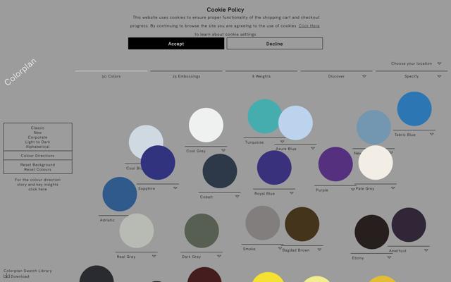 Colorplan | 50 Colors