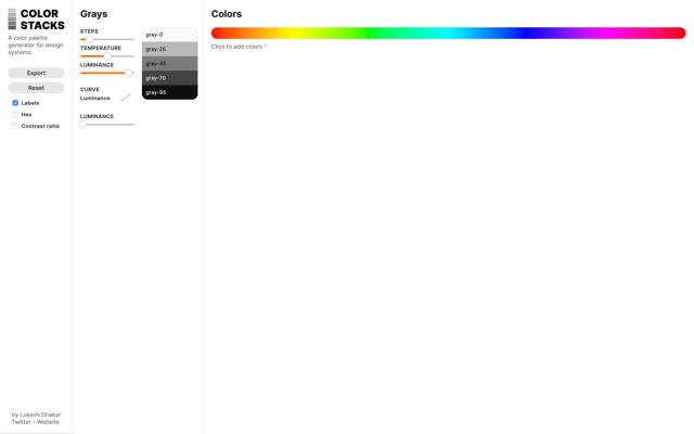 Color Stacks