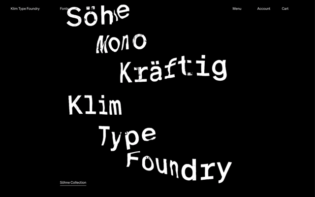Klim Type Foundry
