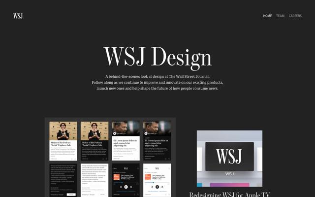 WSJ Design