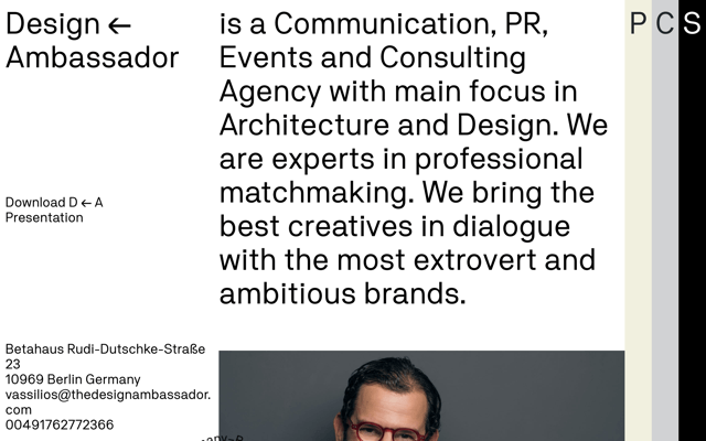 Design ← Ambassador