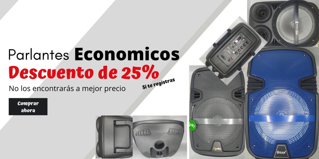 Parlantes baratos USB, BLUETOOH, AUX, MICROFONO Y MAS en Bogotana Engativá