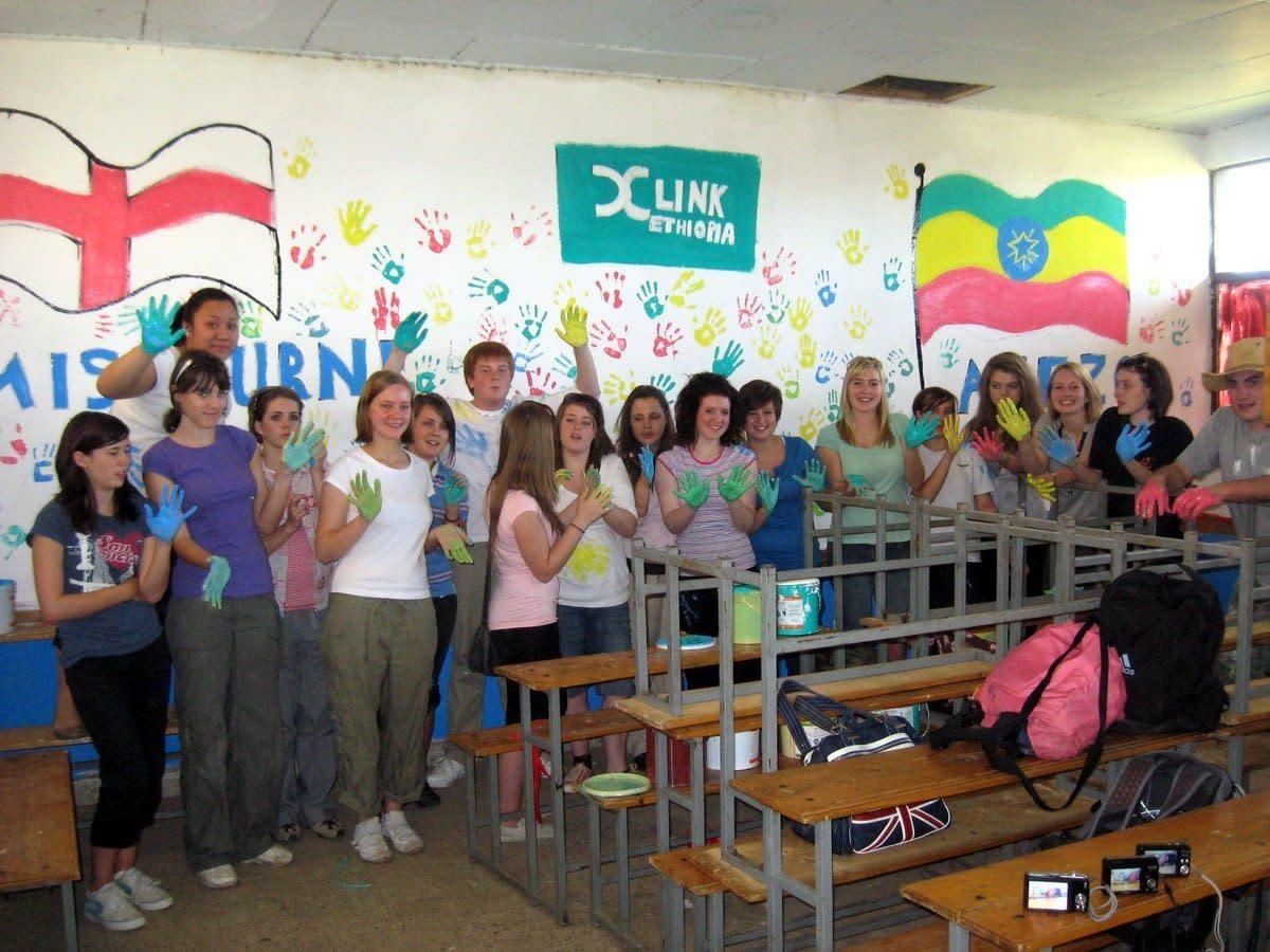 Major student visit to Ethiopia