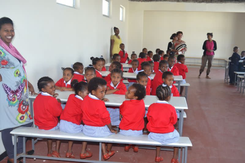 Opening of St. George's School
