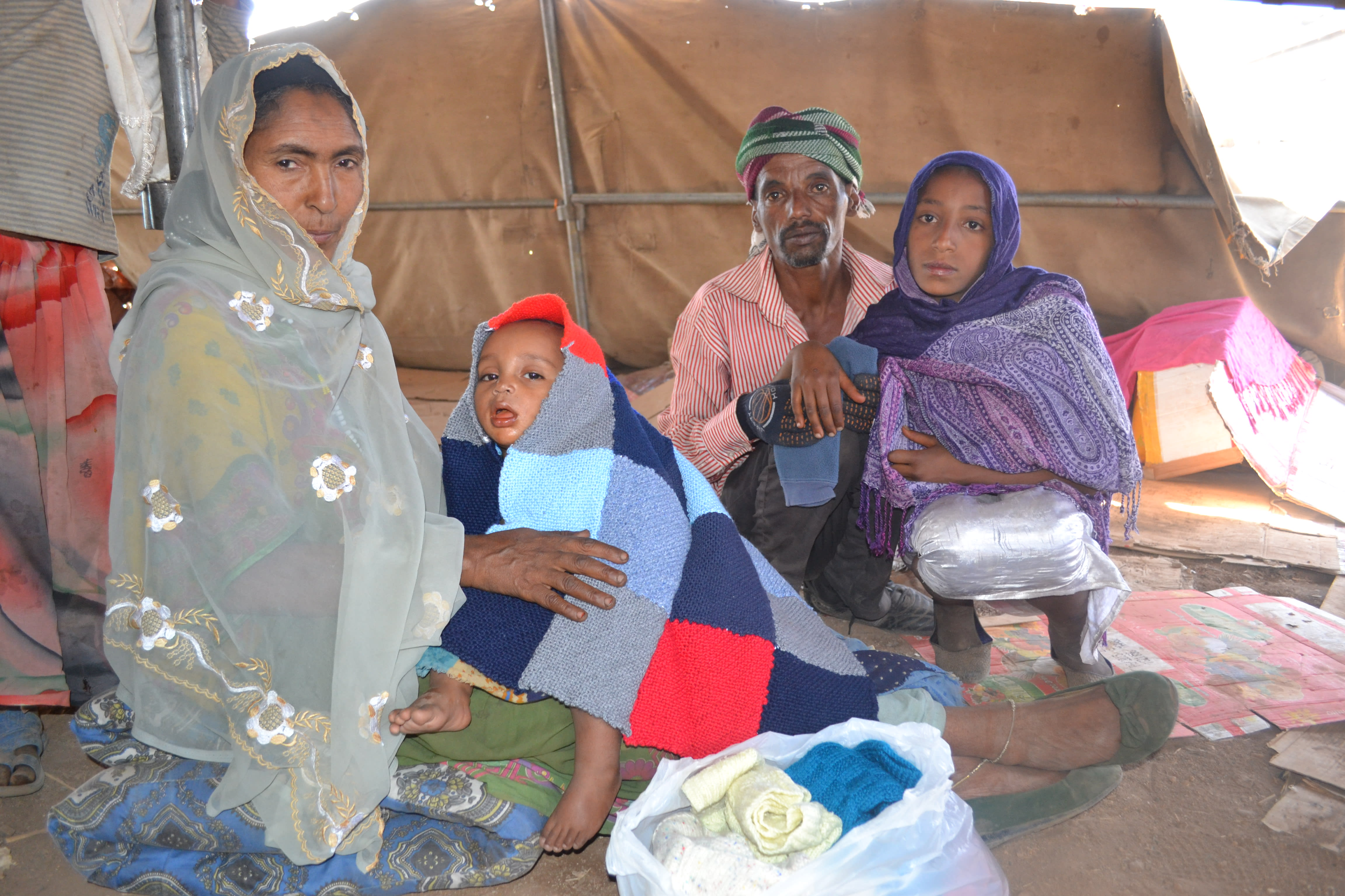 Seyda_wth_family_drought_displaced_refugee_internal_Ethiopia
