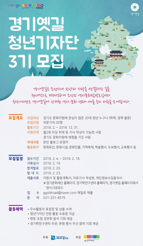 [경기문화재단] 경기옛길 청년기자단 3기