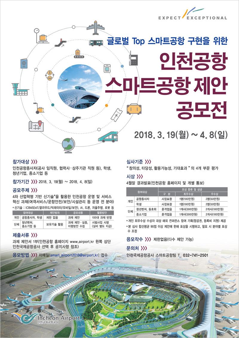 [인천국제공항공사] 인천공항 스마트공항 제안 공모전