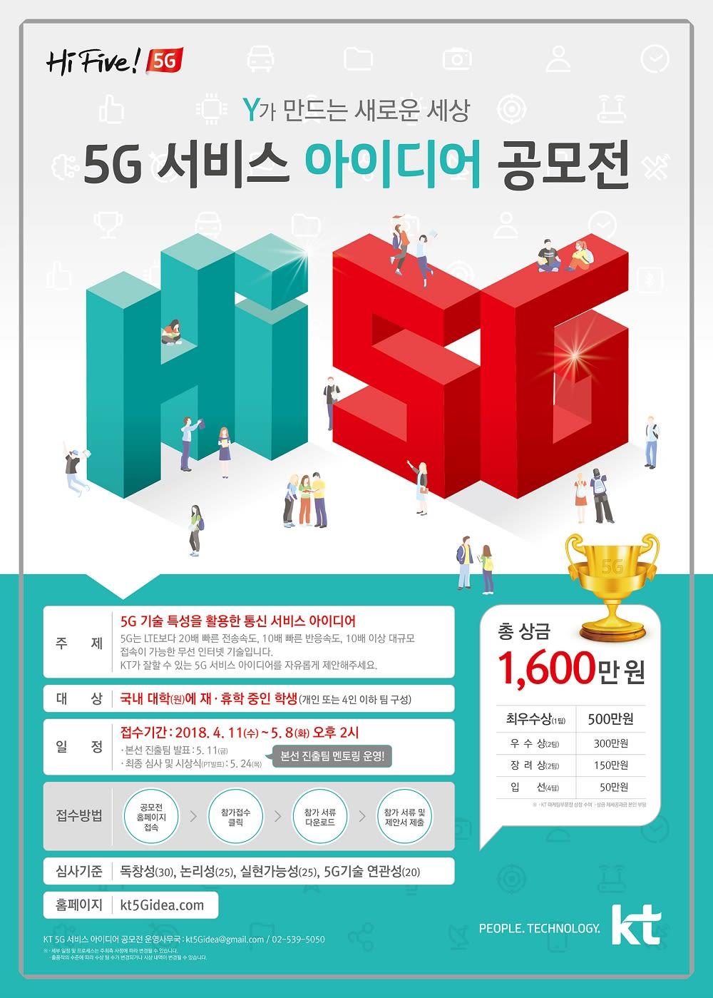 [KT그룹] KT 5G 서비스 아이디어 공모전