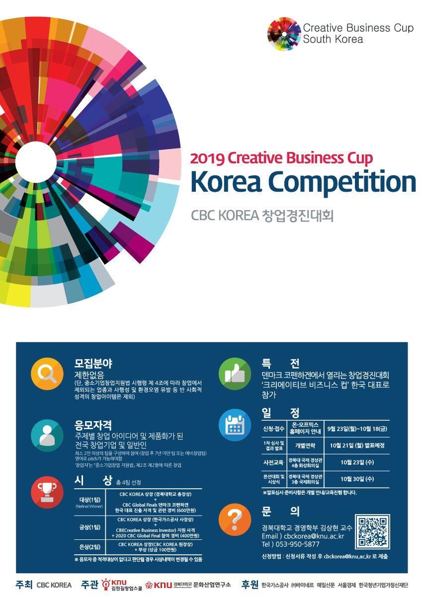 CBC KOREA 2019 창업경진대회