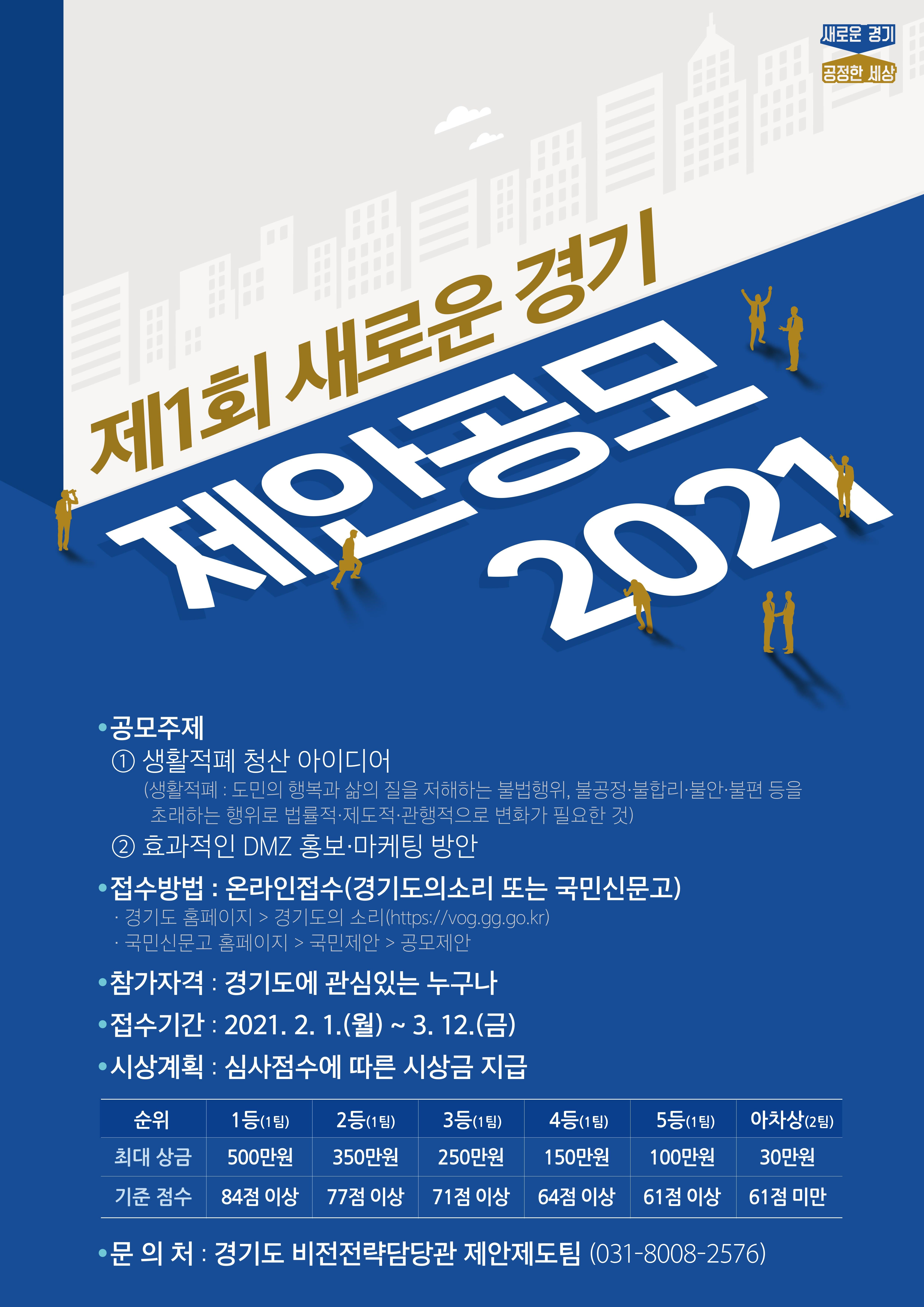제1회 새로운 경기 제안 공모 2021