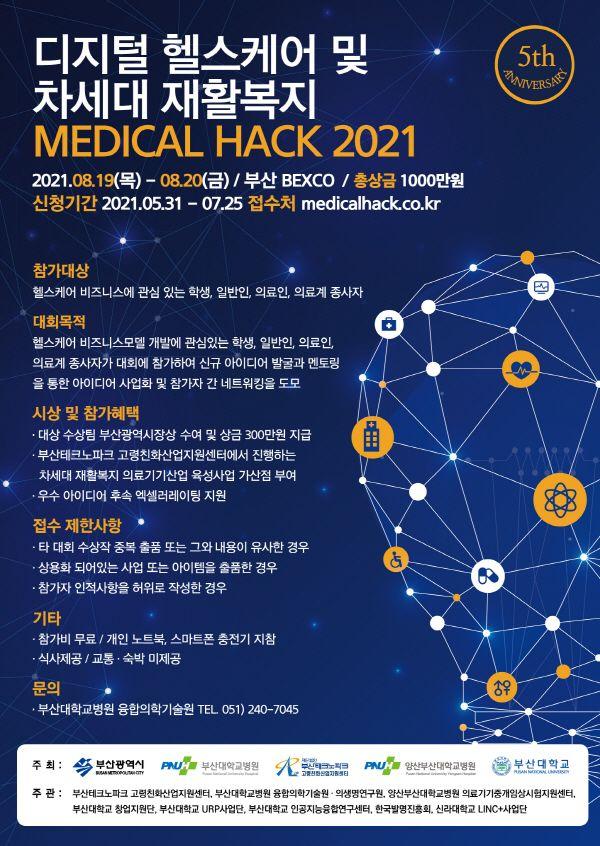 디지털 의료·차세대 재활복지 『MEDICAL HACK 2021』