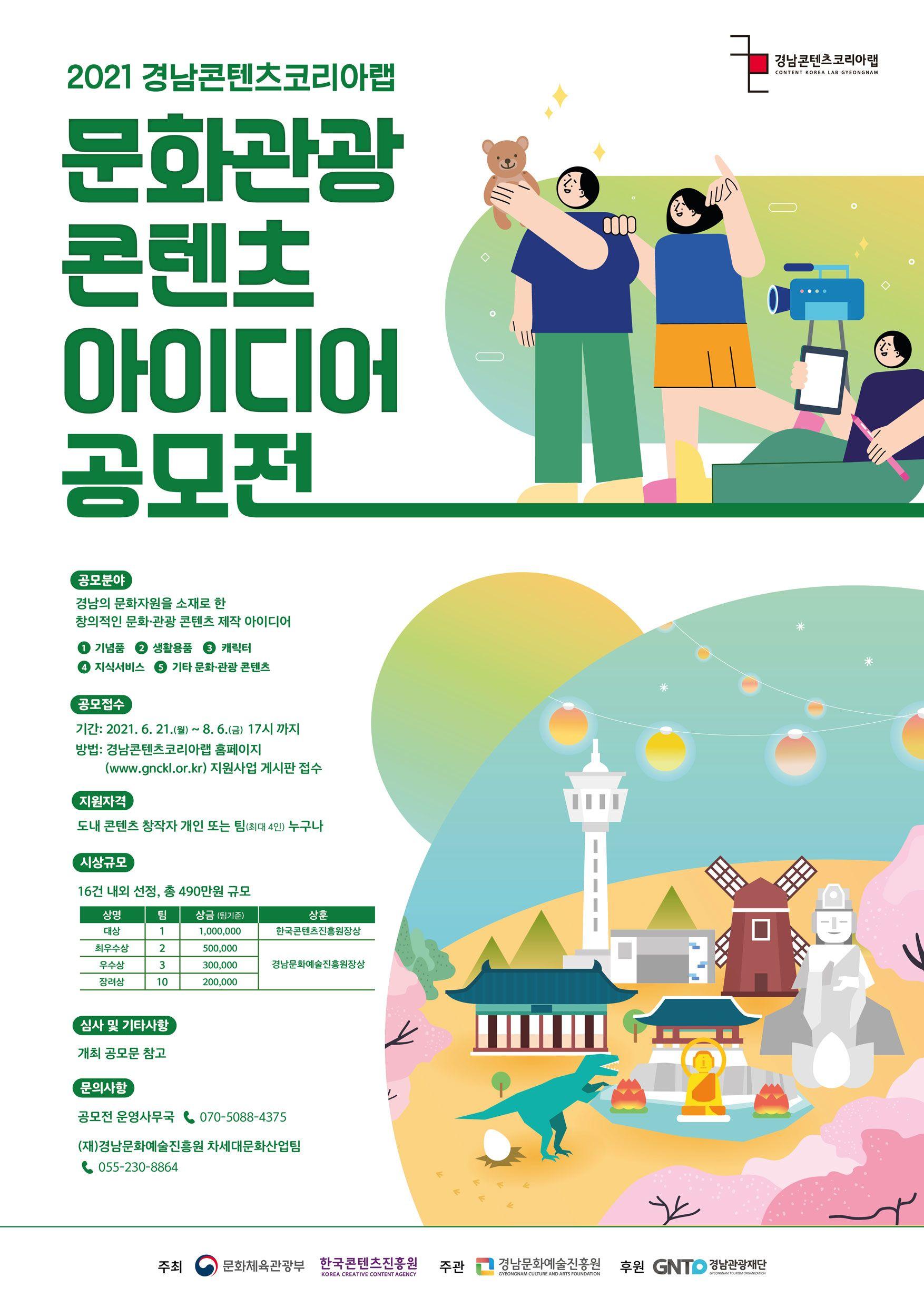 2021년 경남CKL 문화관광 콘텐츠 아이디어 공모전
