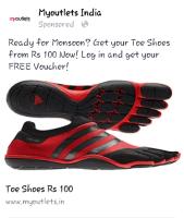 Myoutlets India Toe Shoes