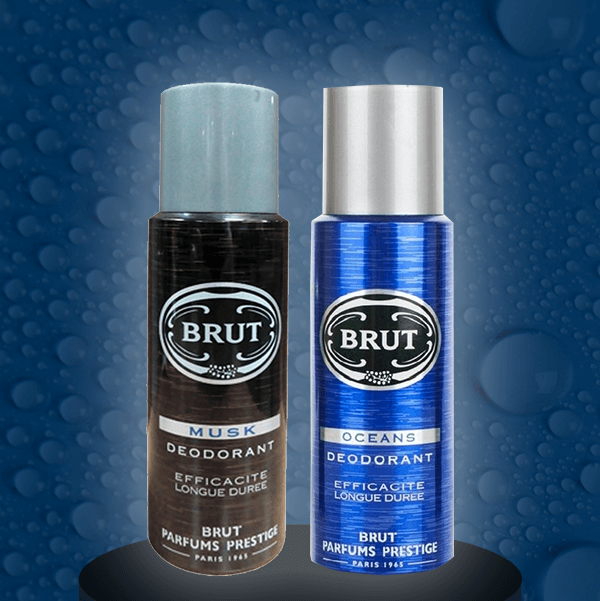 Brut Musk  Oceans Deodorant