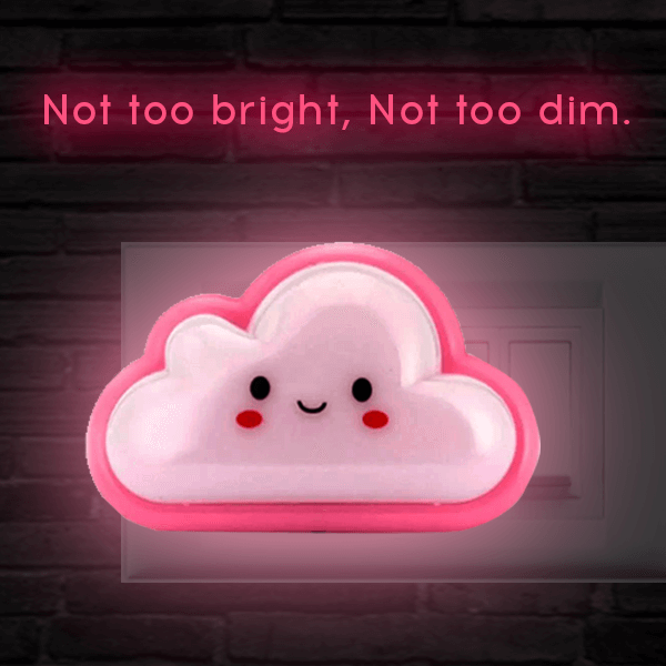 Night lamp - Cloud