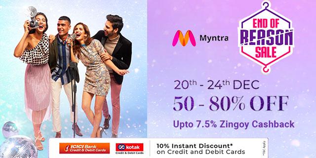 Myntra End of Reason Sale