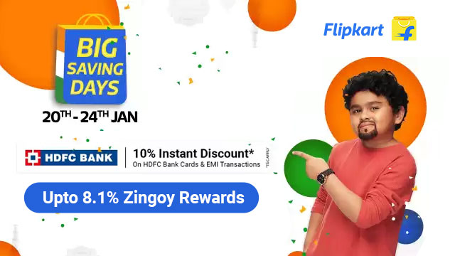 Flipkart Big Saving Days Sale