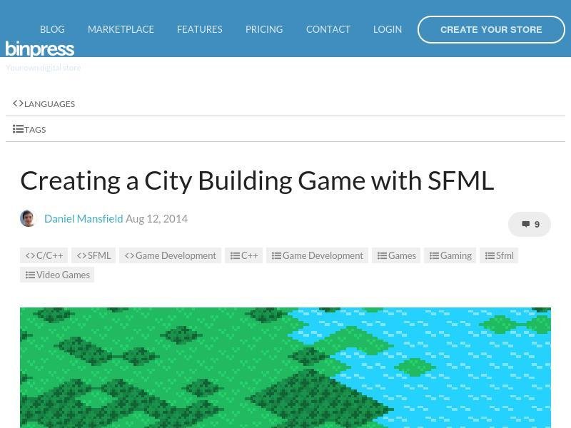 Creating a City Building Game with SFML – Tutorial