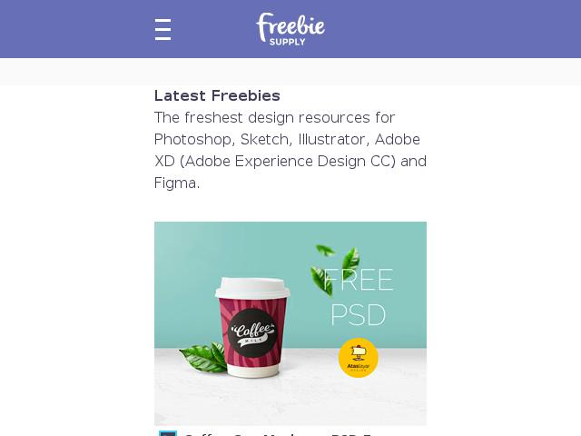 Freebie Supply – Free Resources For Designers - Linknest