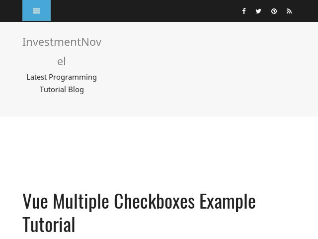 Vue Multiple Checkboxes Example Tutorial - Linknest