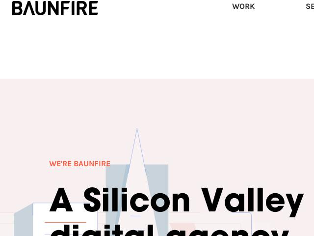 Baunfire Web Design Digital Agency San Jose Ca Silicon Valley Website Design Company Linknest