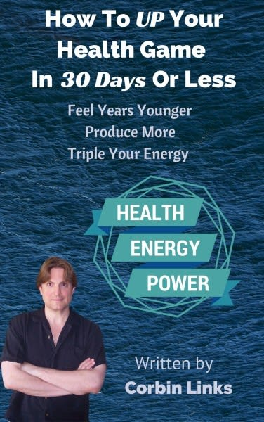 How To Up Your Health Game In 30 Days Or Less - Book Image