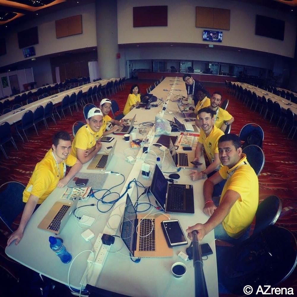 アジアサッカー協会インターン