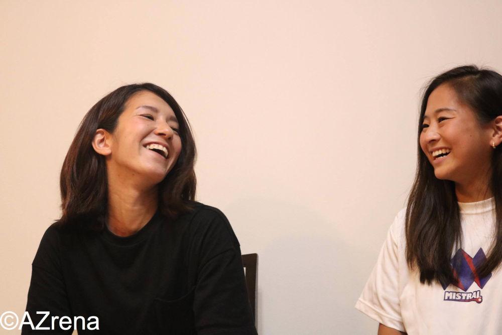 大石陽子さん、小堀優子さん