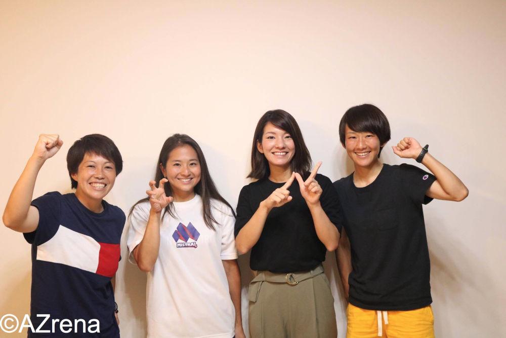 宮沢明日香さん、大石陽子さん、小堀優子さん、堀田ひかるさん