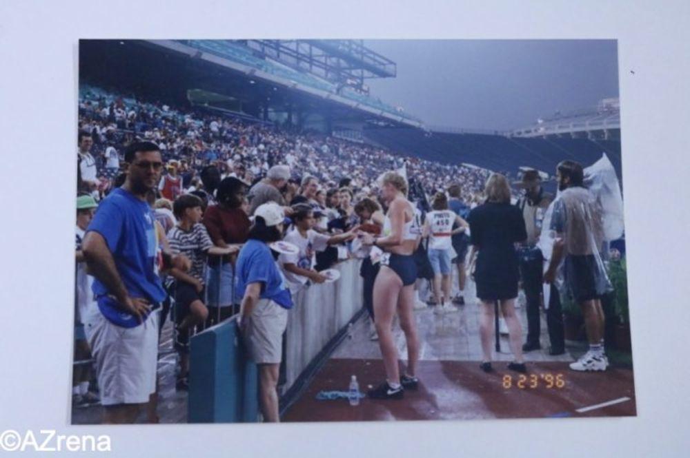 1996年のアトランタ五輪・パラリンピックの写真