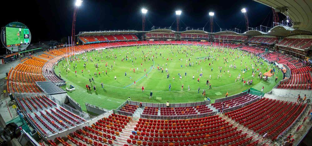 オーストラリアンフットボールのスタジアム