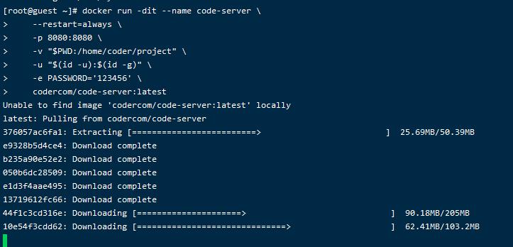VSCode的docker部署