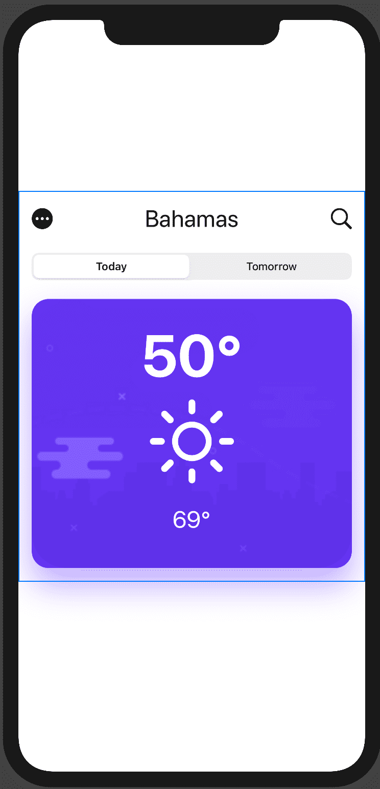 swiftui-weather app