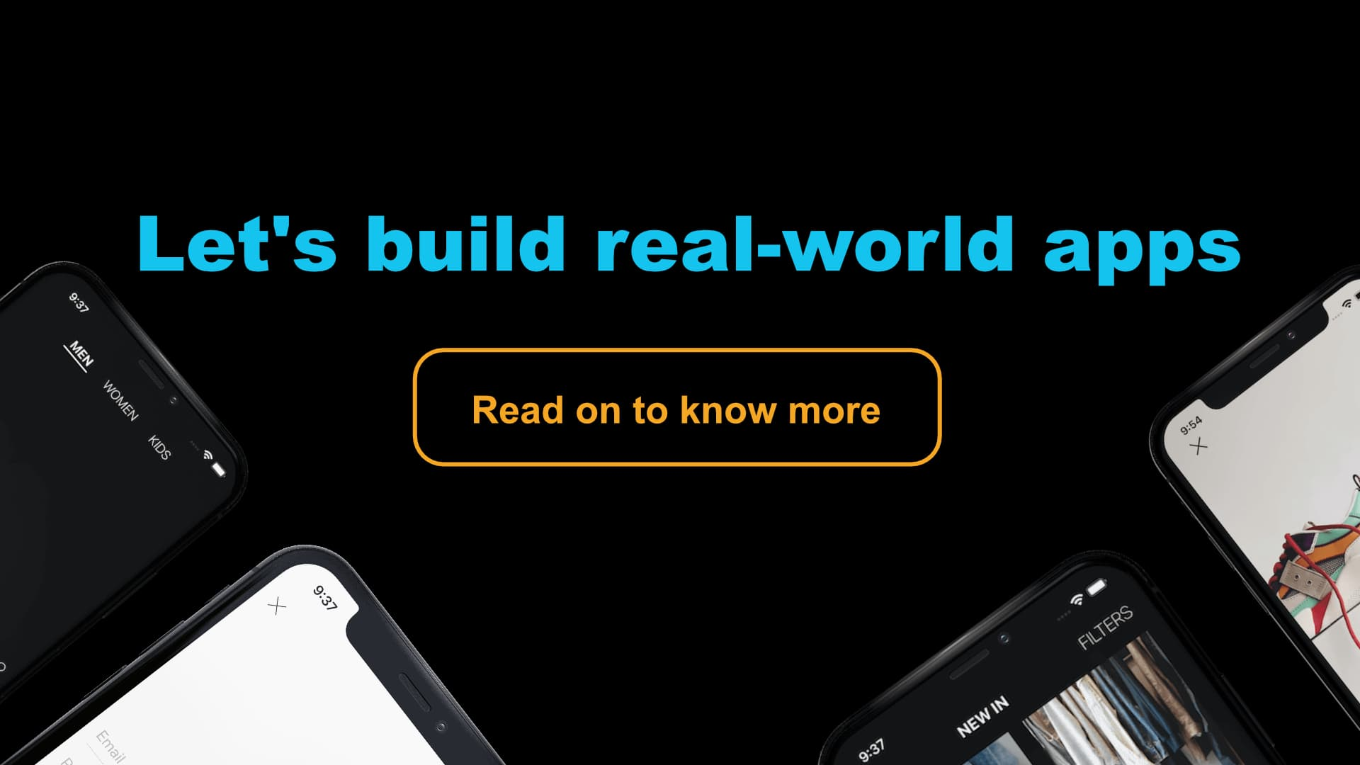 Let's build real-world apps