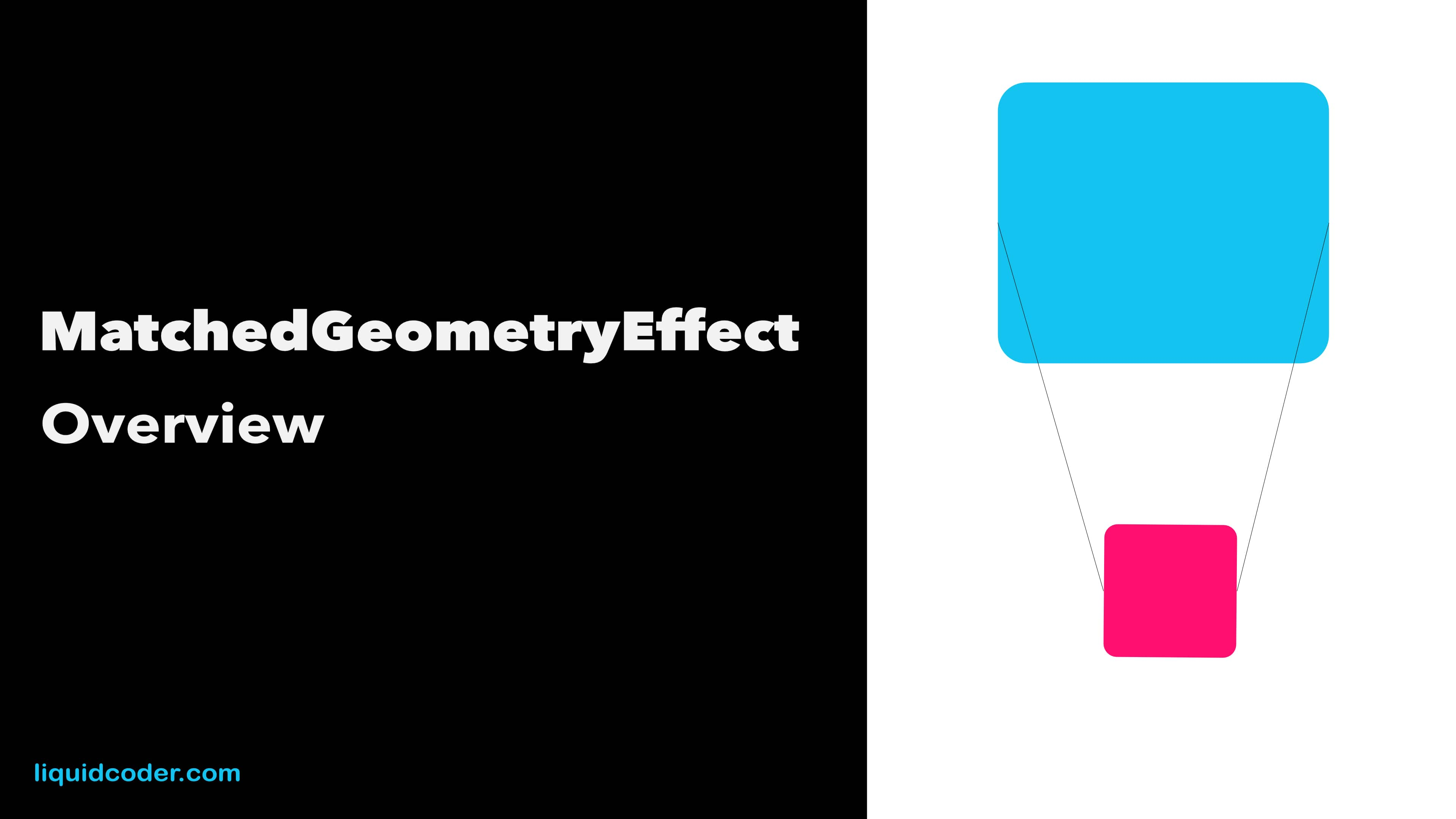 MatchedGeometryEffect Overview