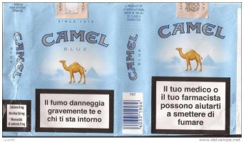 CAMEL BLUE SOFT PACK TOBACCO Pack