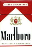 MARLBORO RED TOBACCO Pack