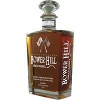 BOWER HILL SINGLE BARREL WHIS-BOURBON .750L