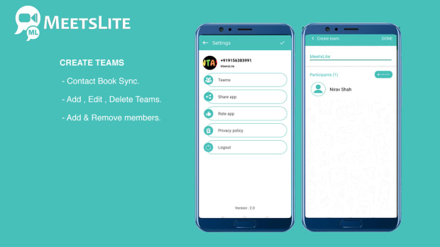 MeetsLite Video Conferencing and Video Sharing Solution Android, iOS, WEB & Windows, Mac, Linux - 6