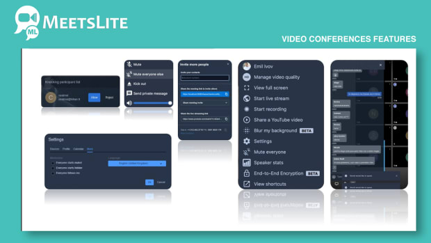MeetsLite Video Conferencing and Video Sharing Solution Android, iOS, WEB & Windows, Mac, Linux - 7